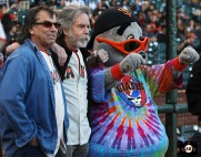 San Francisco Giants, S.F. Giants, photo, 2013, Grateful Dead, Lou Seal